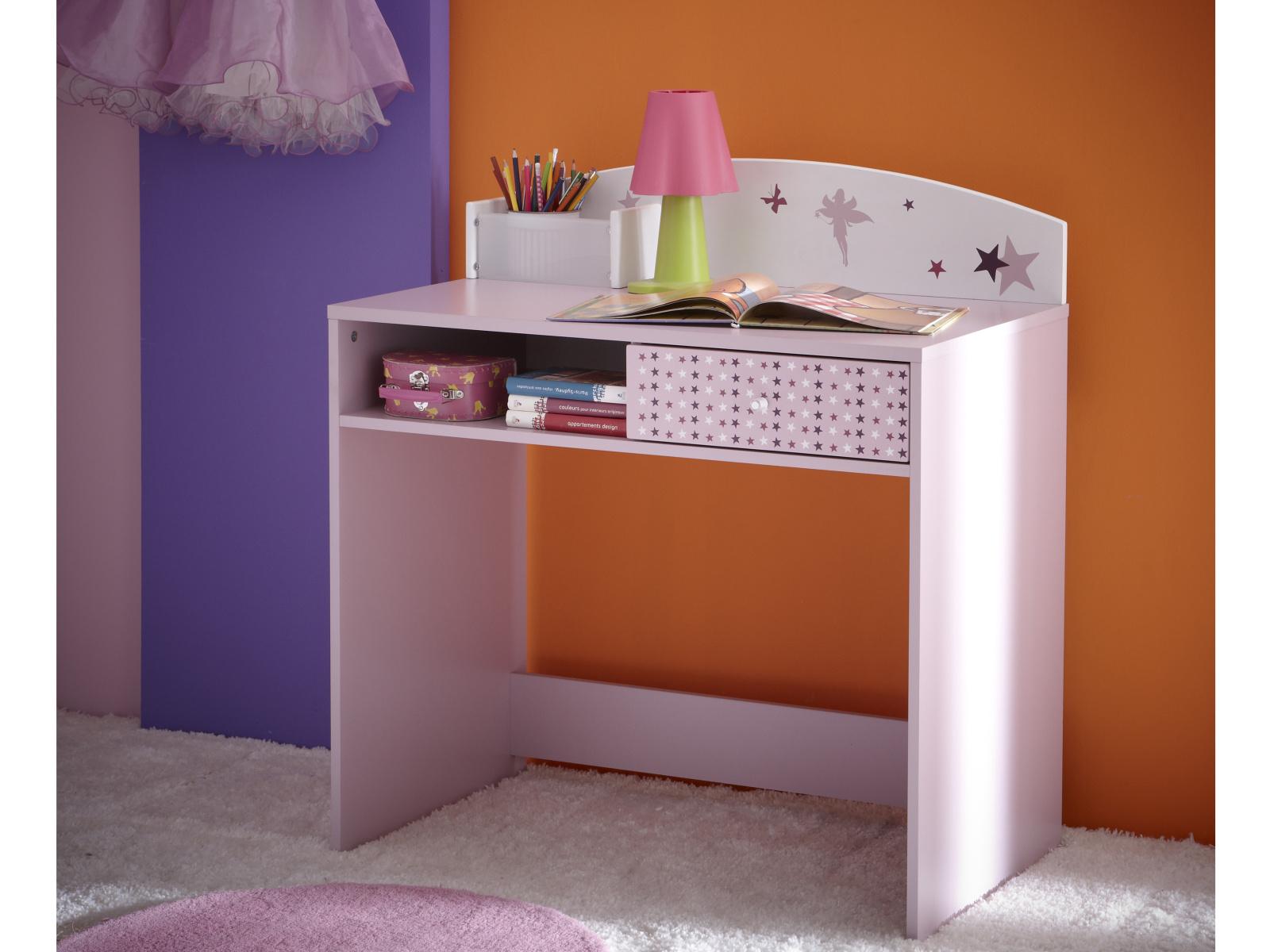 DEMEYERE Dětský psací stůl FEI, fialková