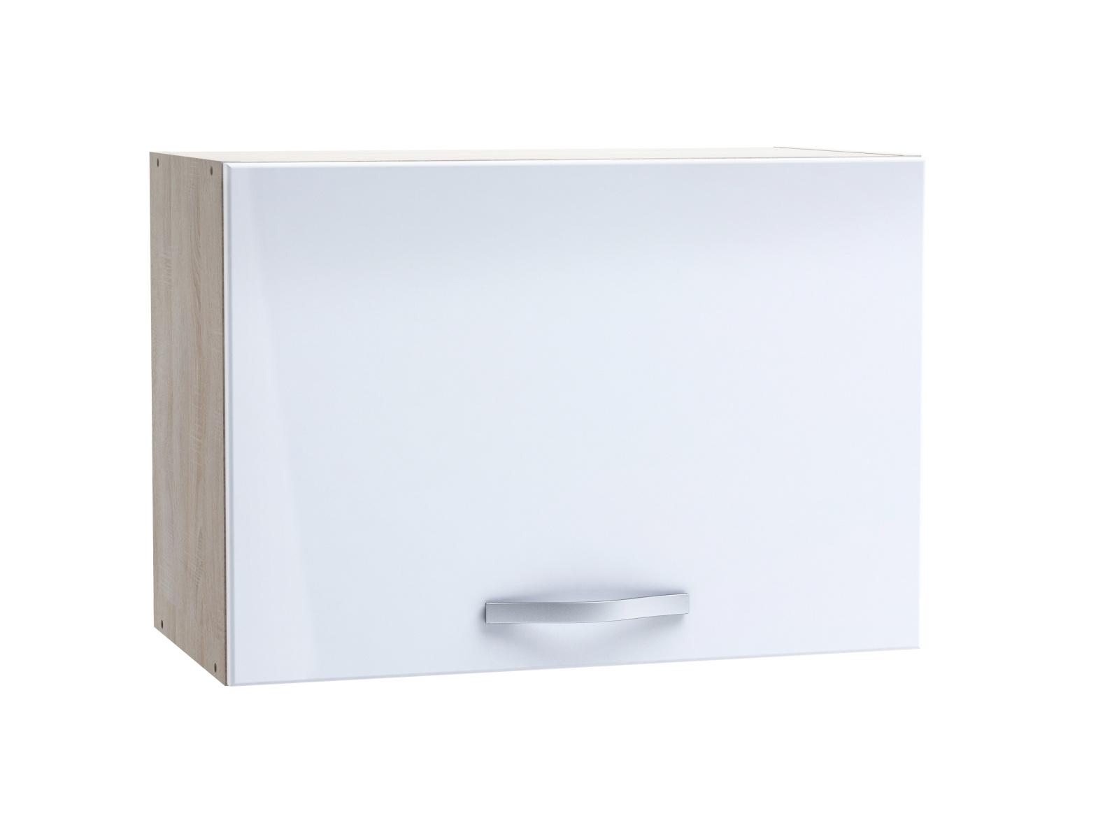 CHANTILY, skříňka výklopná 60 cm, bílý lesk