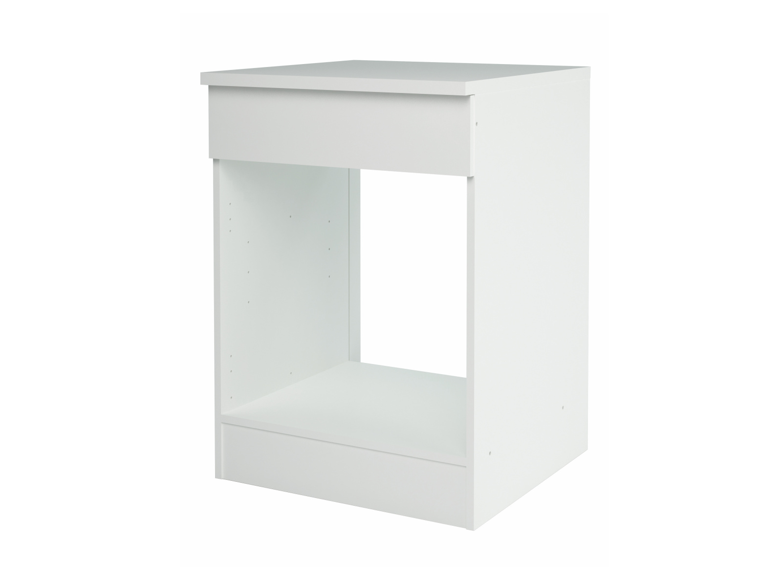 NOVIA, skříňka pro vestavnou troubu, bílá