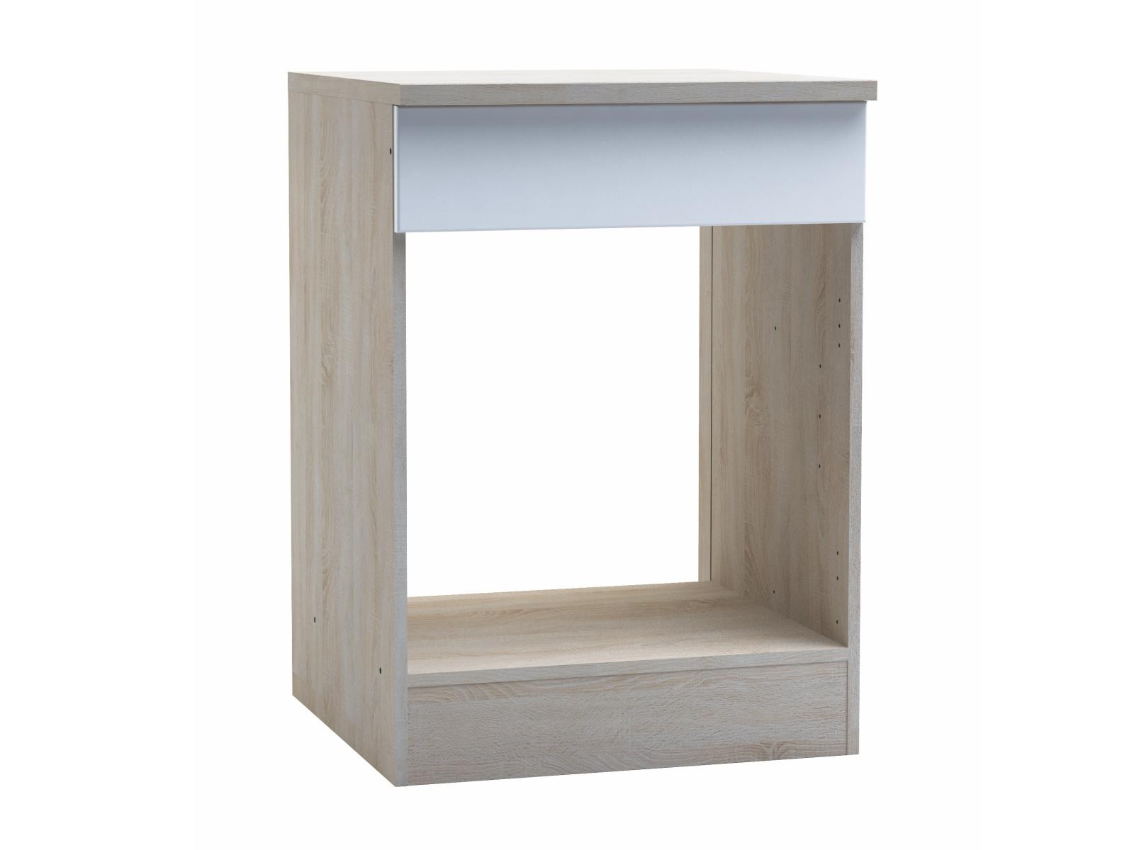 BIANKA, skříňka pro vestavnou troubu, bílá