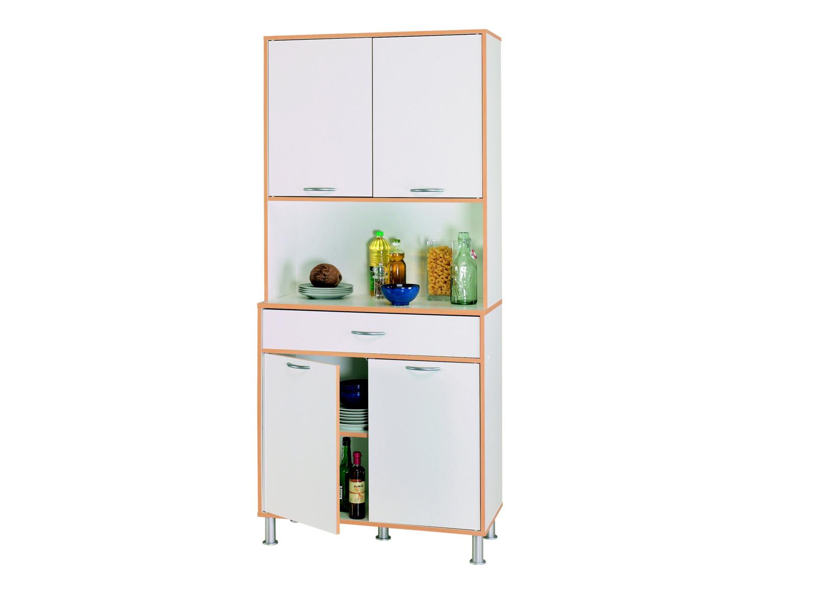 DEMEYERE BUFETS, kuchyňská skříňka 4D1S, bílá
