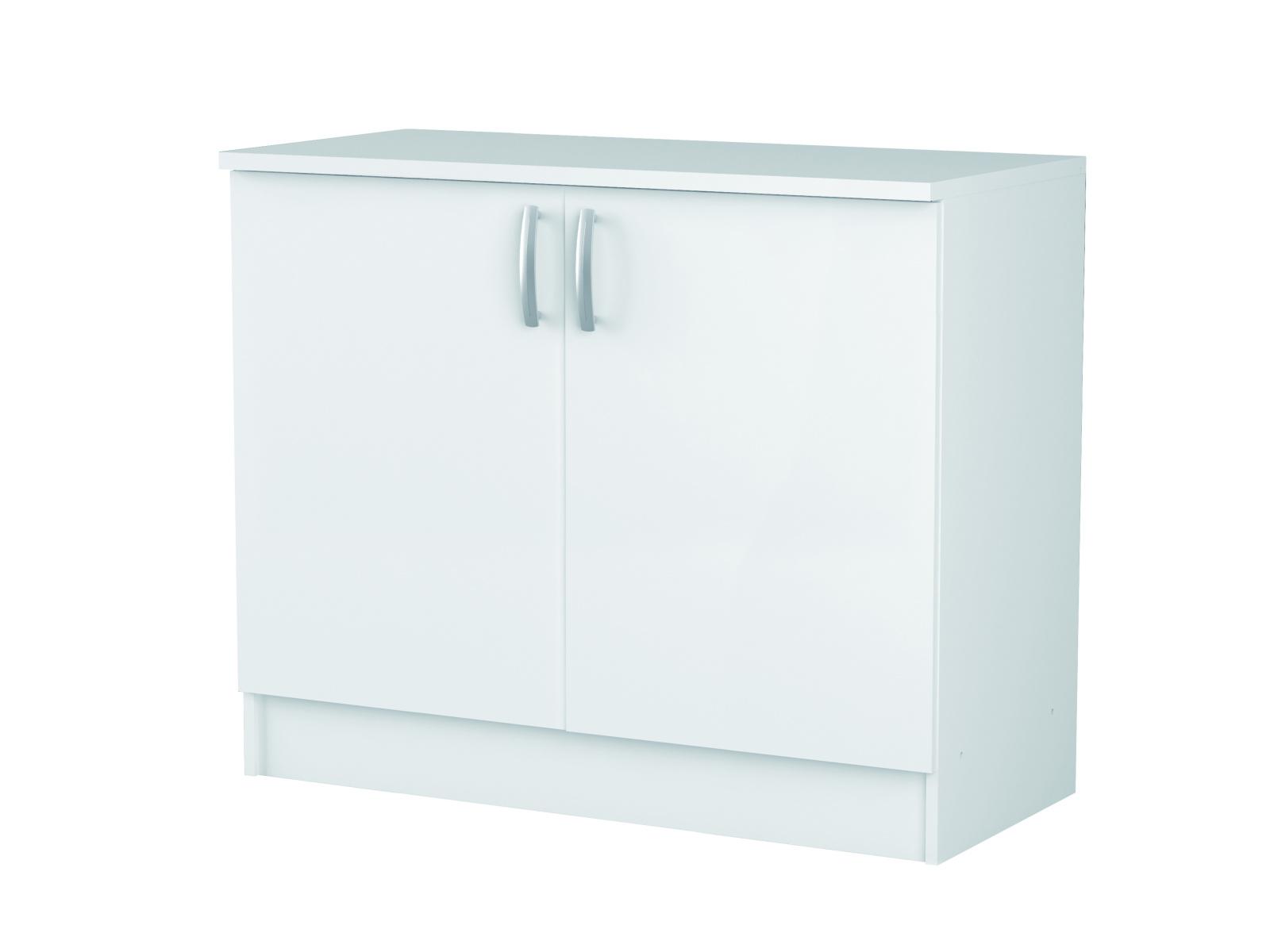 DEMEYERE NOVIA, skříňka pod dřez 100 cm, bílá
