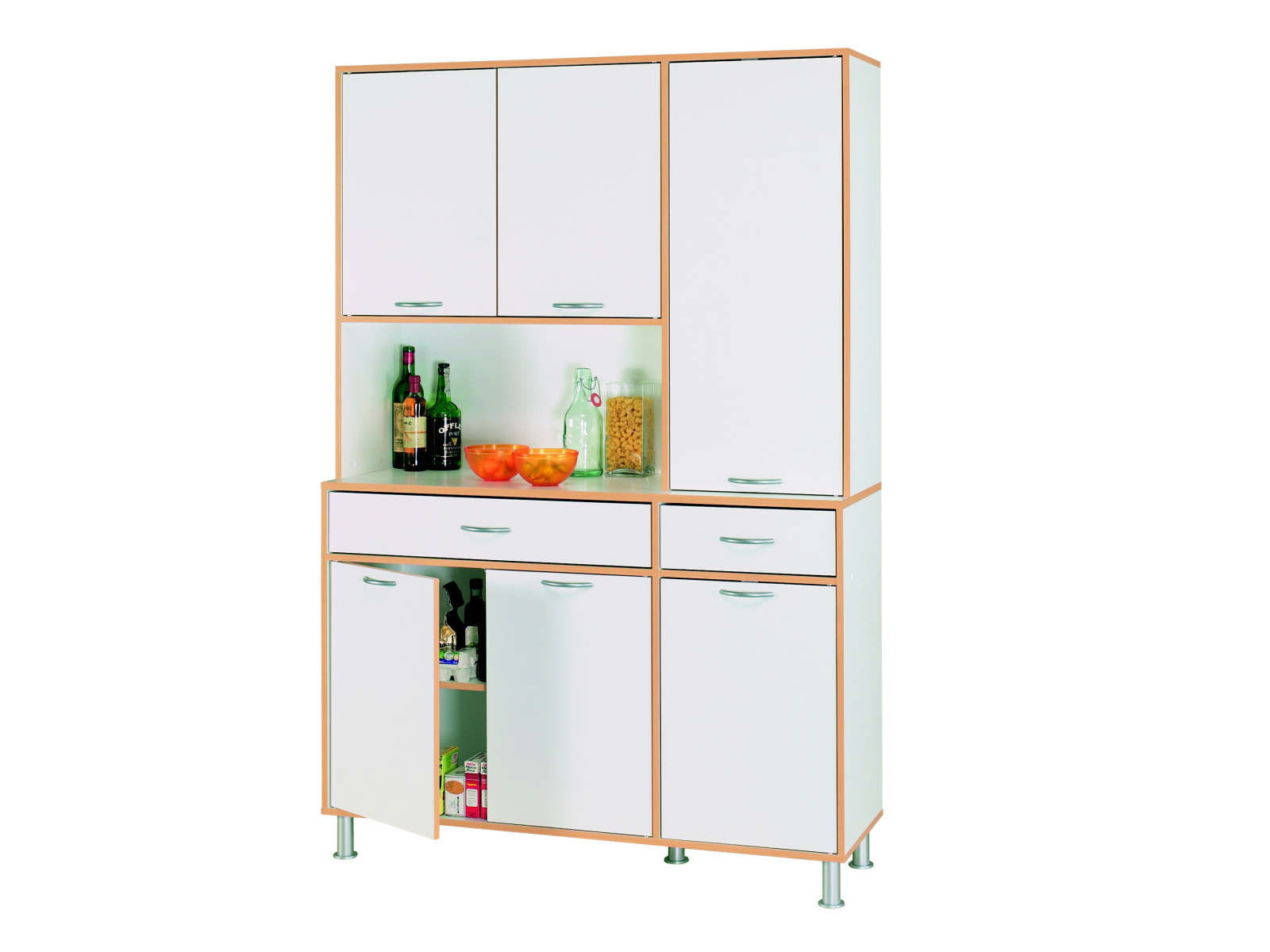 DEMEYERE BUFETS, kuchyňská skříňka 6D2S, bílá