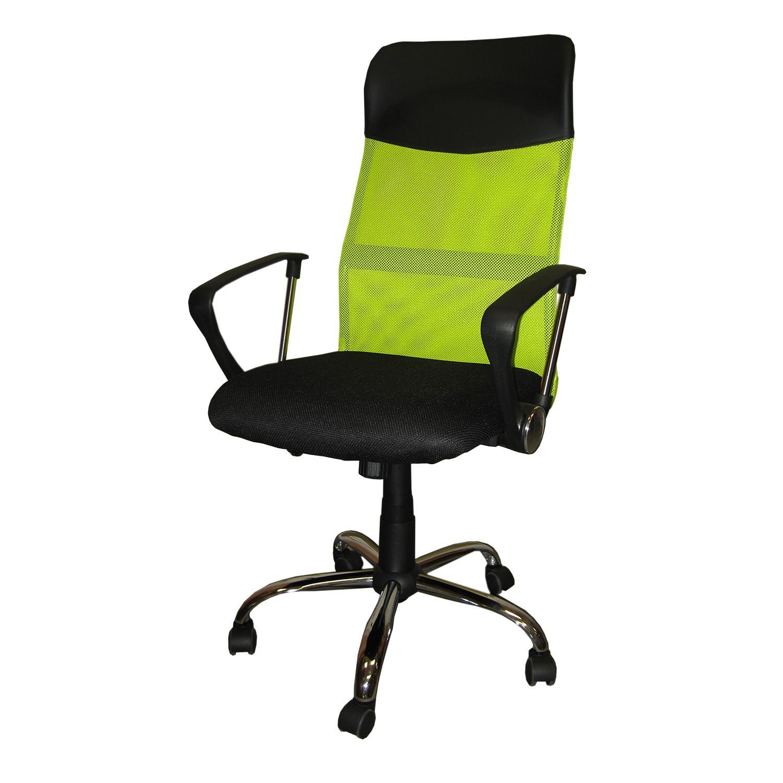 Kancelářské křeslo President, zelená barva