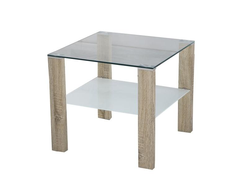 Halmar Konferenční stolek SIMPLE H KWADRAT, dub sonoma
