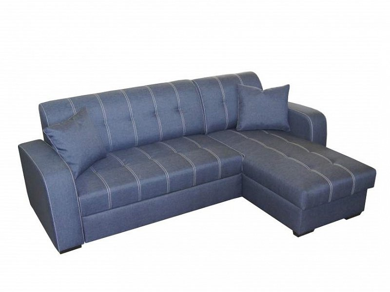 ORFA MIX Rohová sedačka TORINO, univerzální roh, modrá