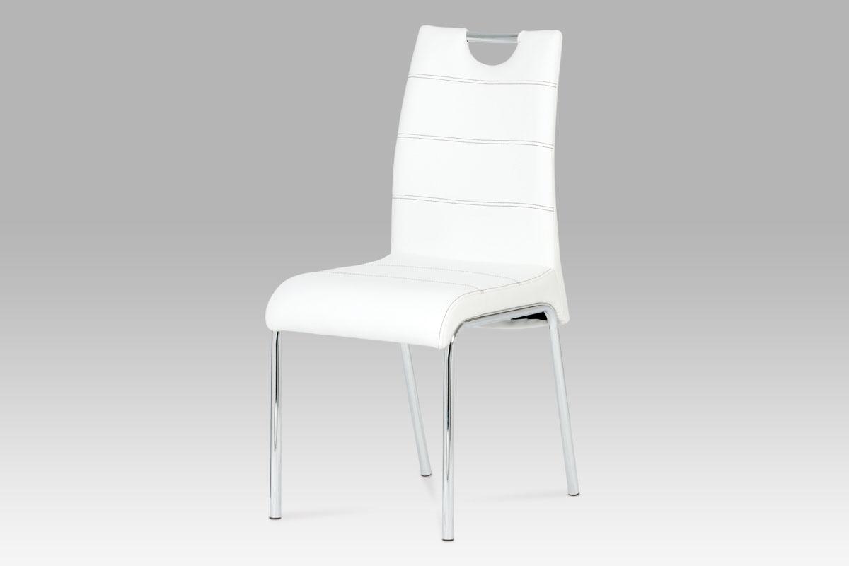 Autronic Jídelní židle AC-1122 WT