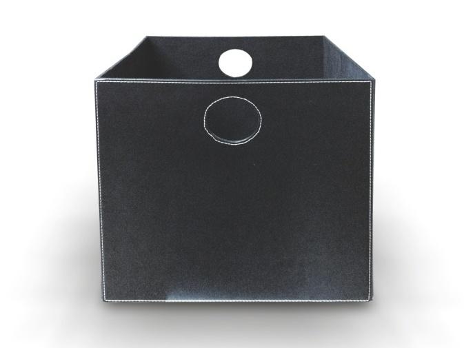 Tempo Kondela TOFI-LEXO úložný box, černá