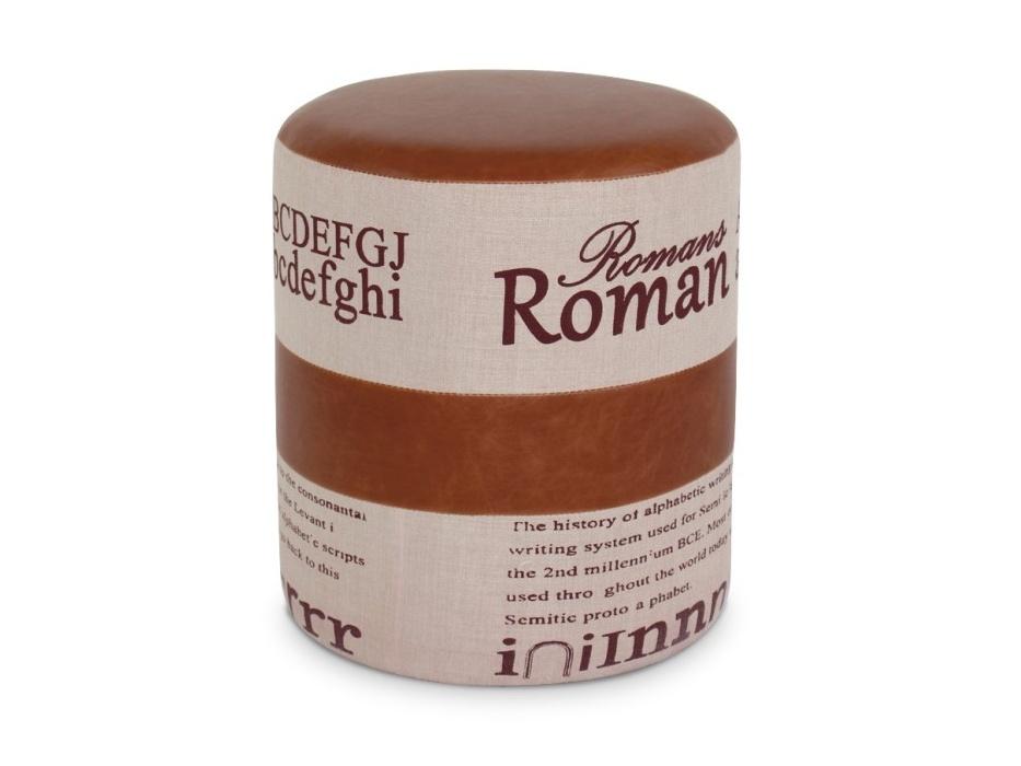 Tempo Kondela ROMAN 1 taburet, světle hnědá/béžová