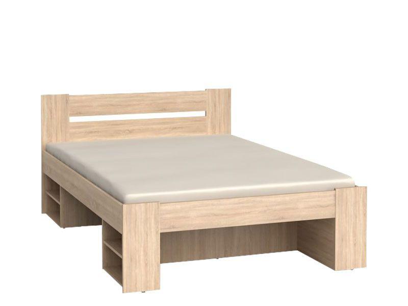 NEPO, postel LOZ3S 140x200 cm, dub sonoma