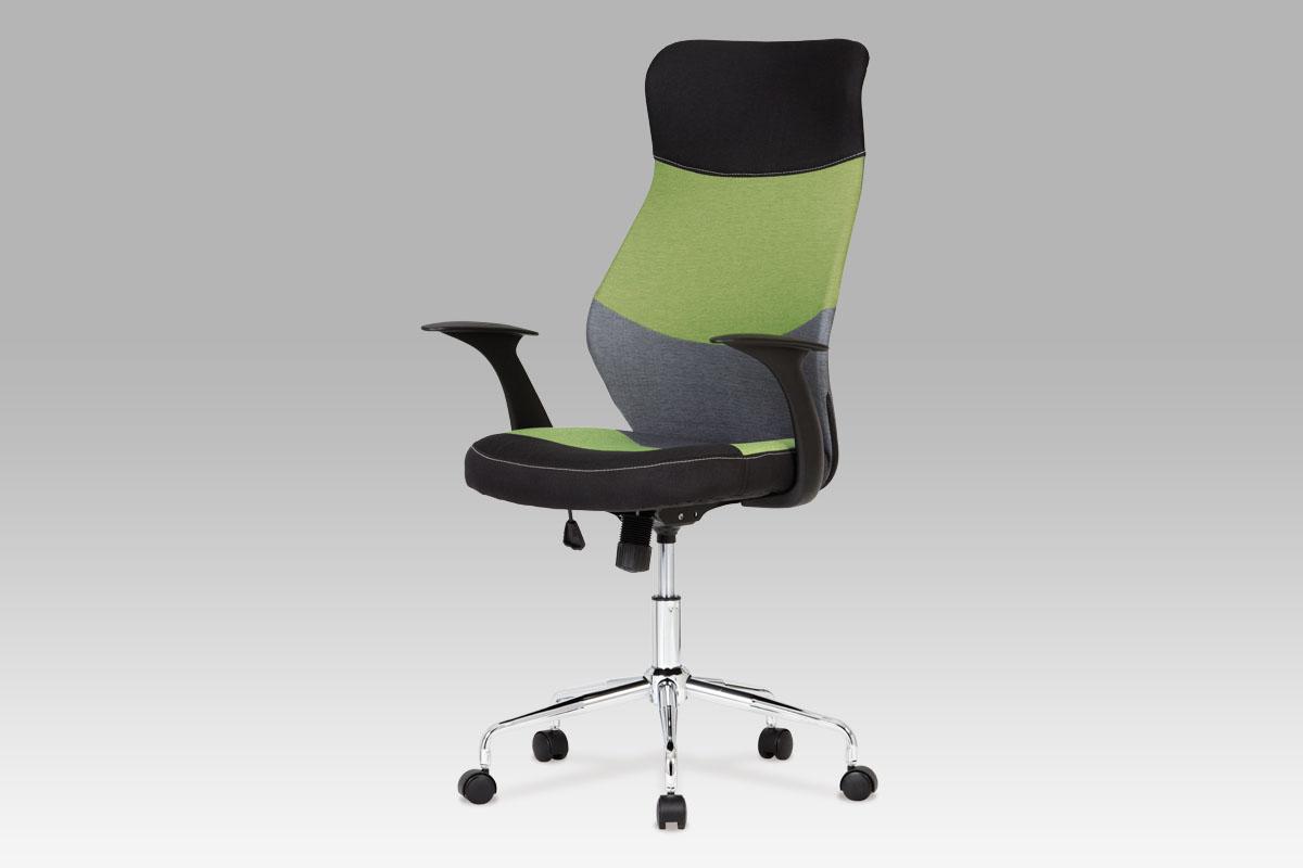 Autronic Kancelářská židle KA-N849 GRN, zelená