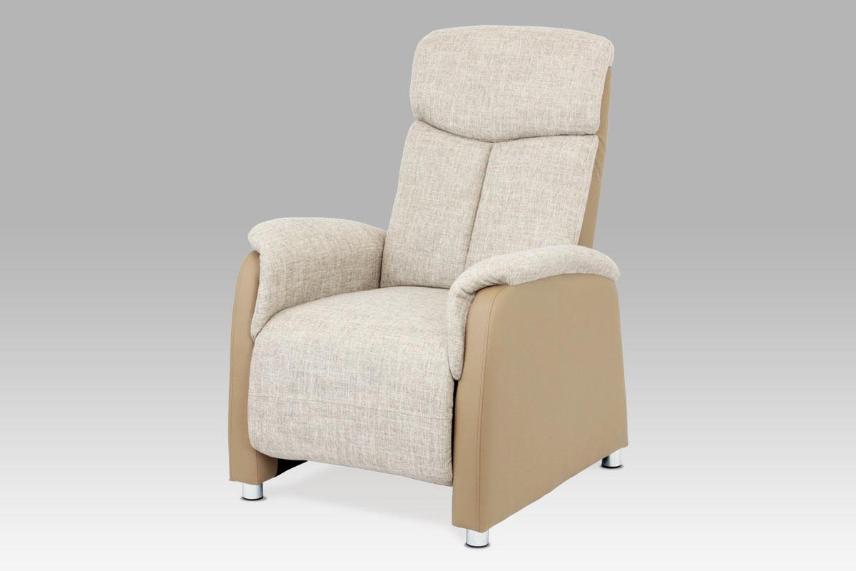 Autronic Relaxační křeslo TV-8129 CAP2, cappuccino