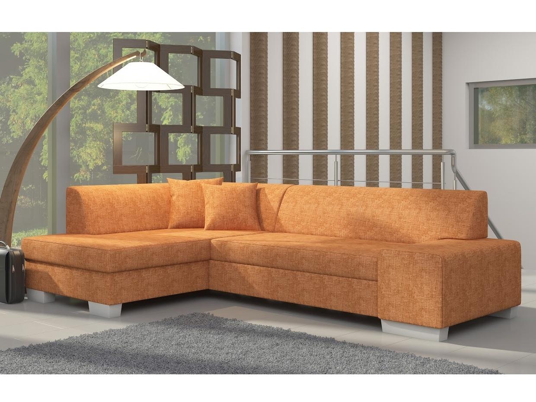 ELTAP Rohová sedačka FABIO 15 levá, oranžová