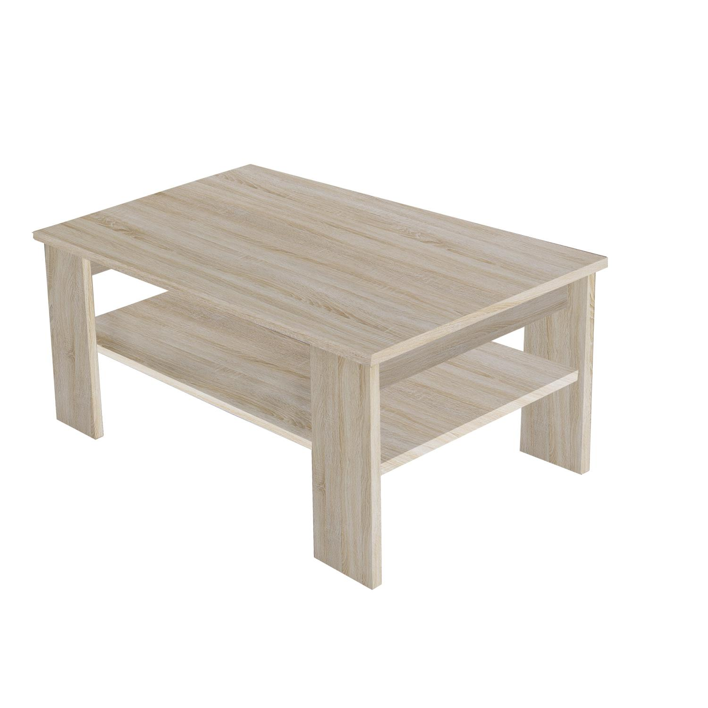 Konferenční stolek NIBLOCK, dub sonoma