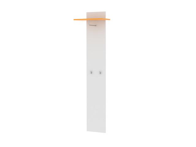 MB Domus SOFIE odkládací panel SO 11, bílá/oranžová