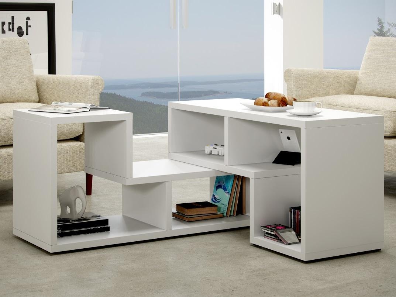 MORAVIA FLAT Konferenční stolek TOP, bílá