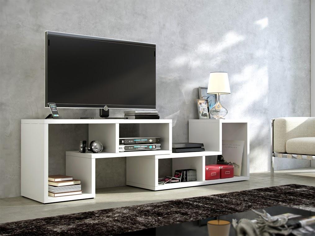 MORAVIA FLAT TV stolek TOP, bílá