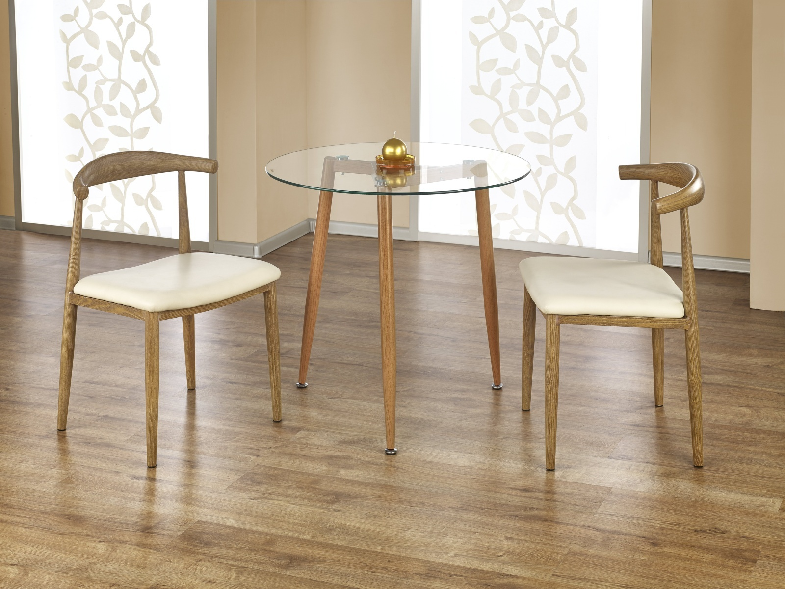 Halmar ULSTER jídelní stůl kulatý, olše