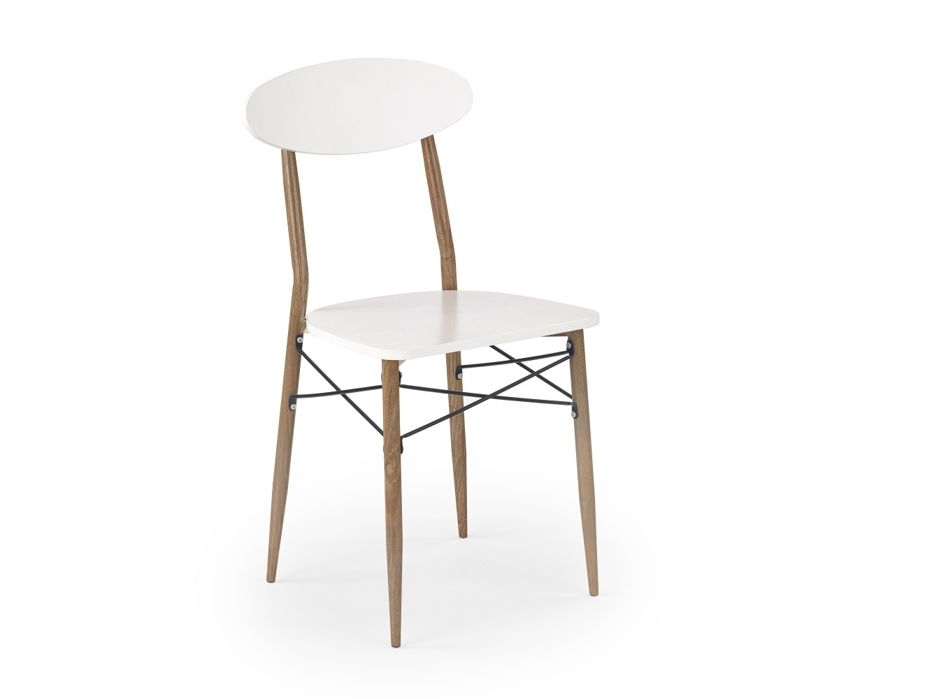 Halmar Židle K223, bílá