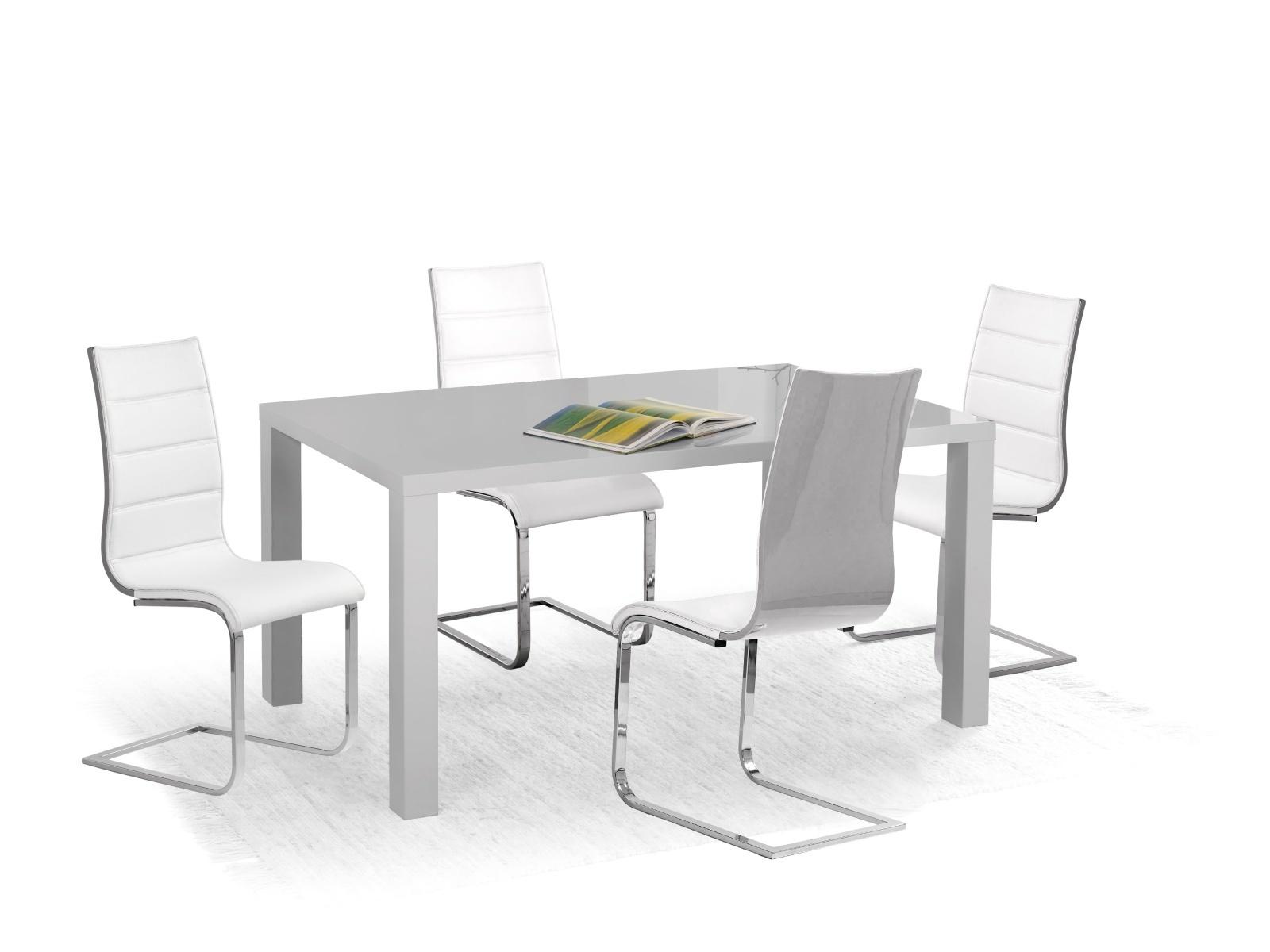 Halmar Jídelní stůl RONALD 120, šedý