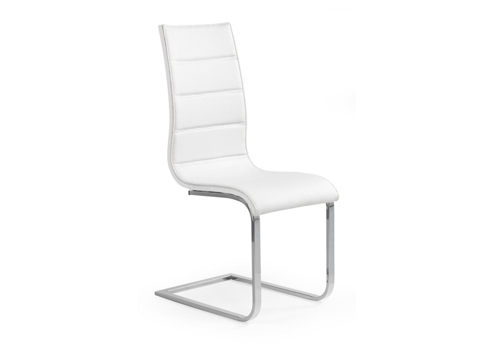 Halmar Židle K104, bílá