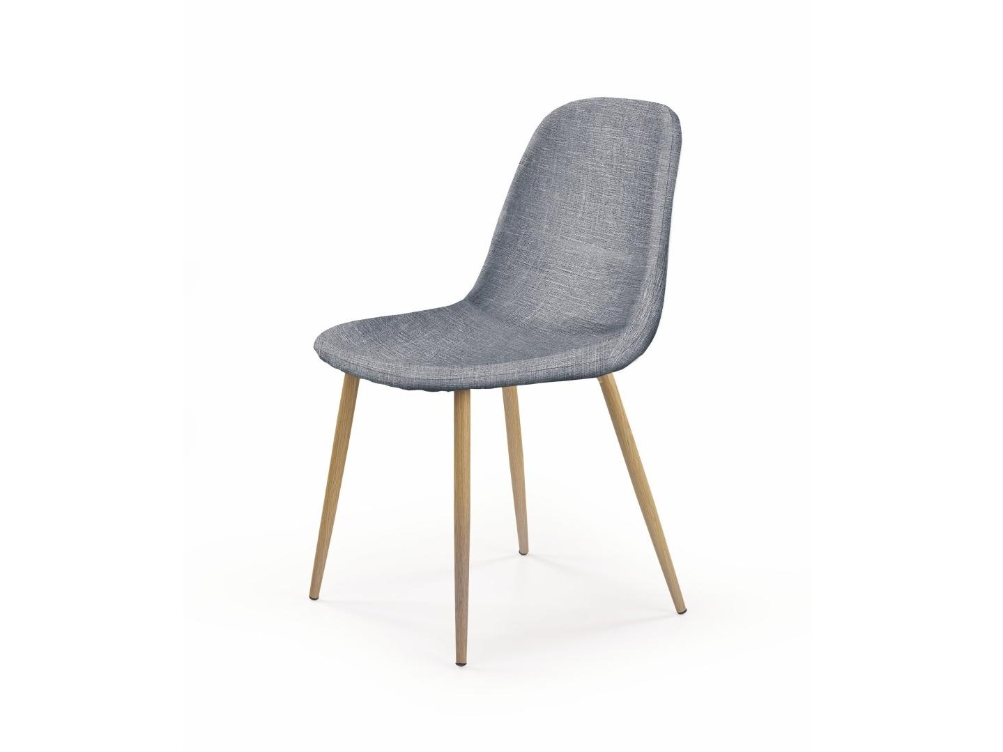 Halmar Židle K220, šedá