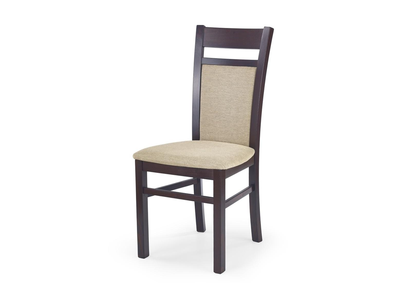 Halmar Jídelní židle GERARD 2, ořech tmavý