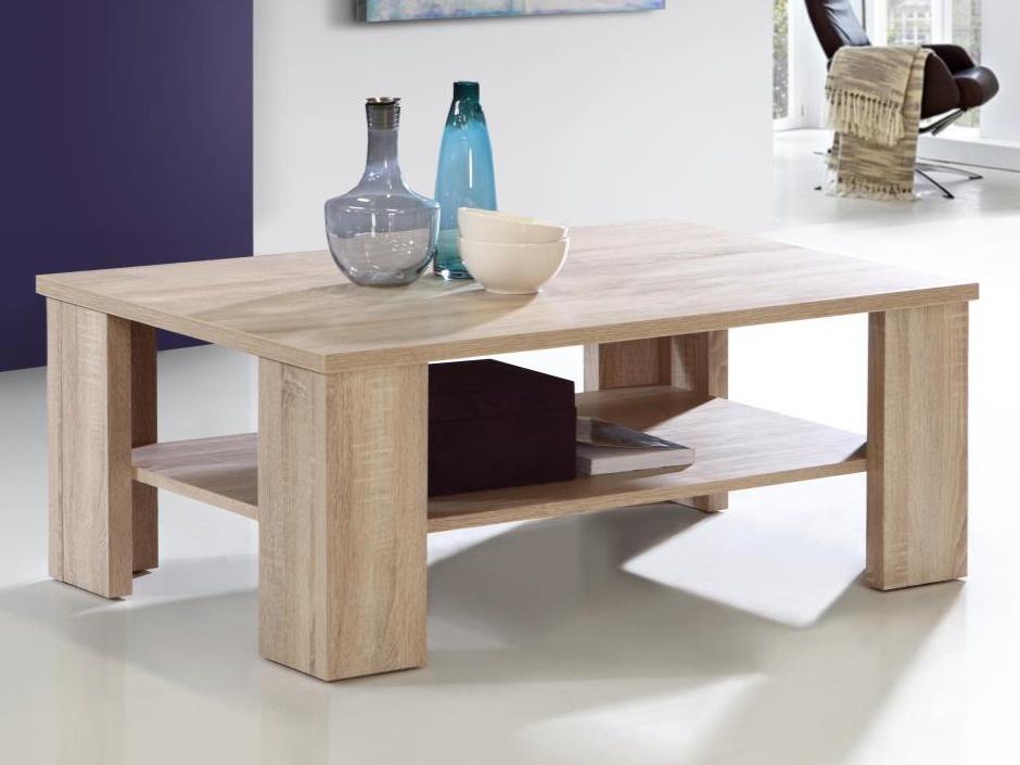 Forte BRUCE, konferenční stolek, dub sonoma
