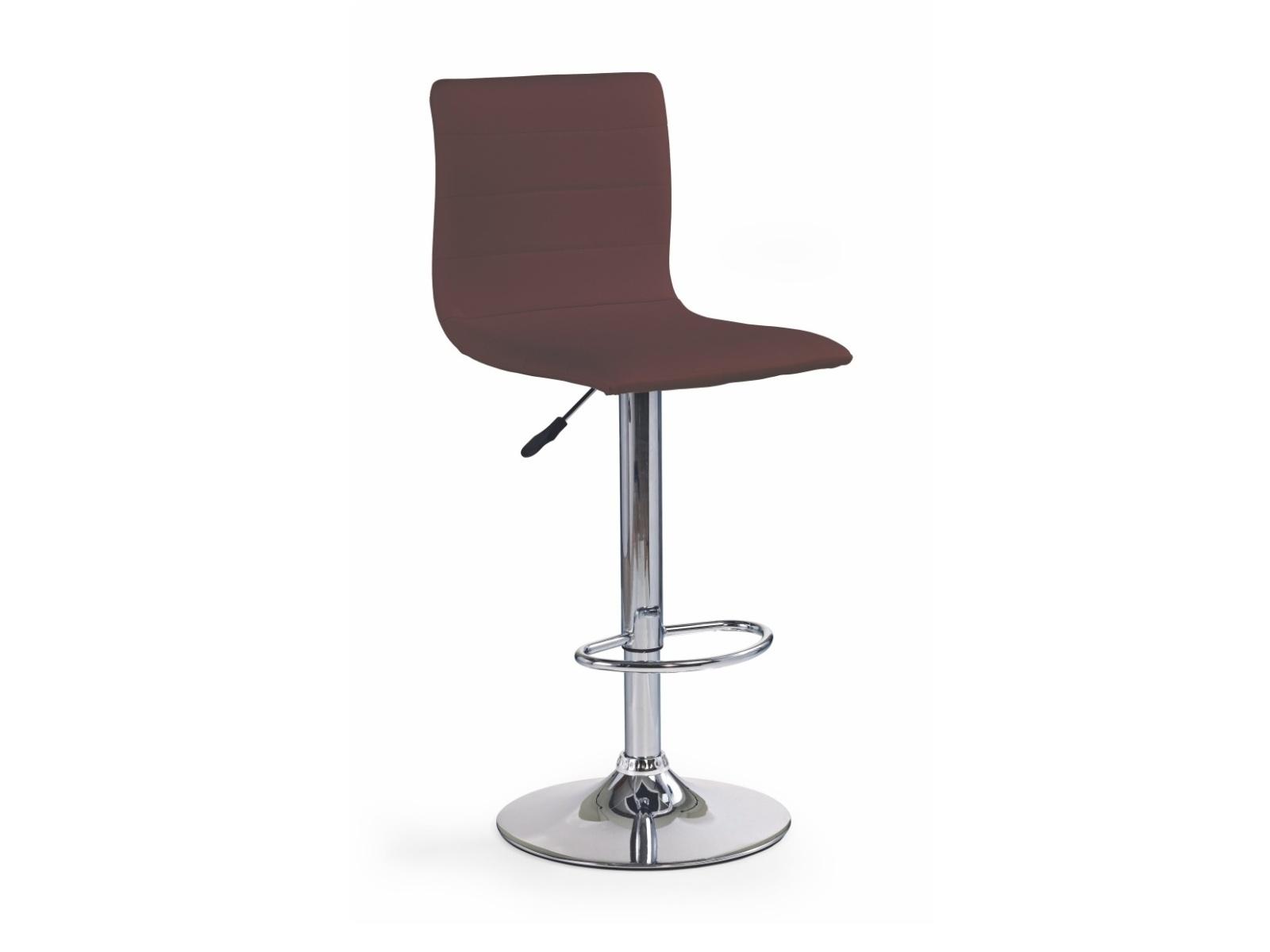 Halmar Barová židle H-21, hnědá