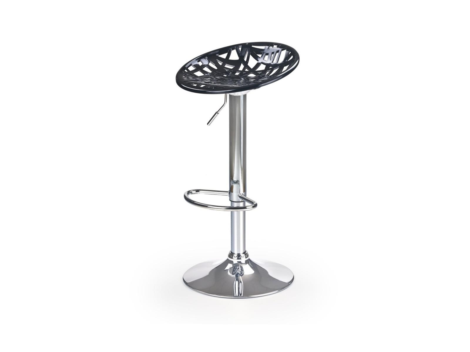 Halmar Barová židle H-56, černá