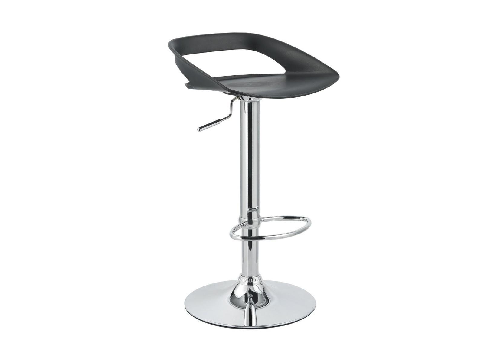 Halmar Barová židle H-61, černá