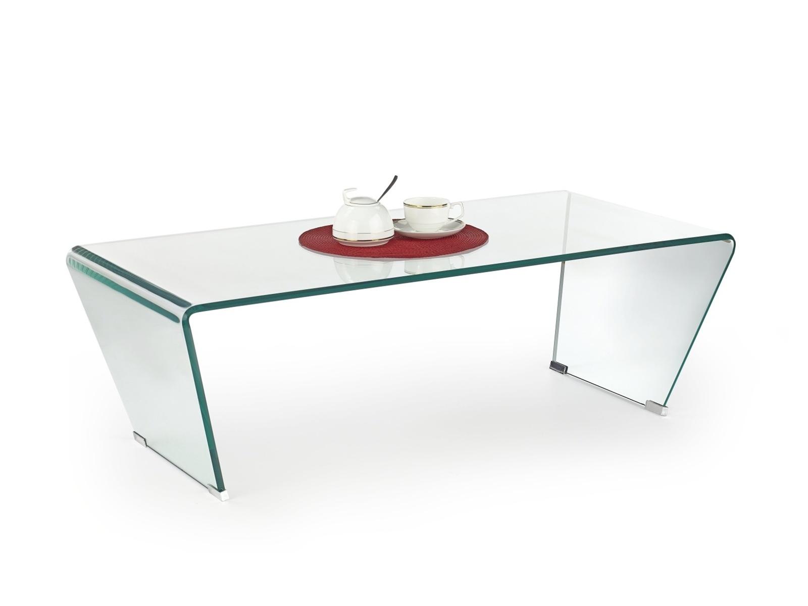 Halmar Konferenční stolek OLIMPIA, sklo