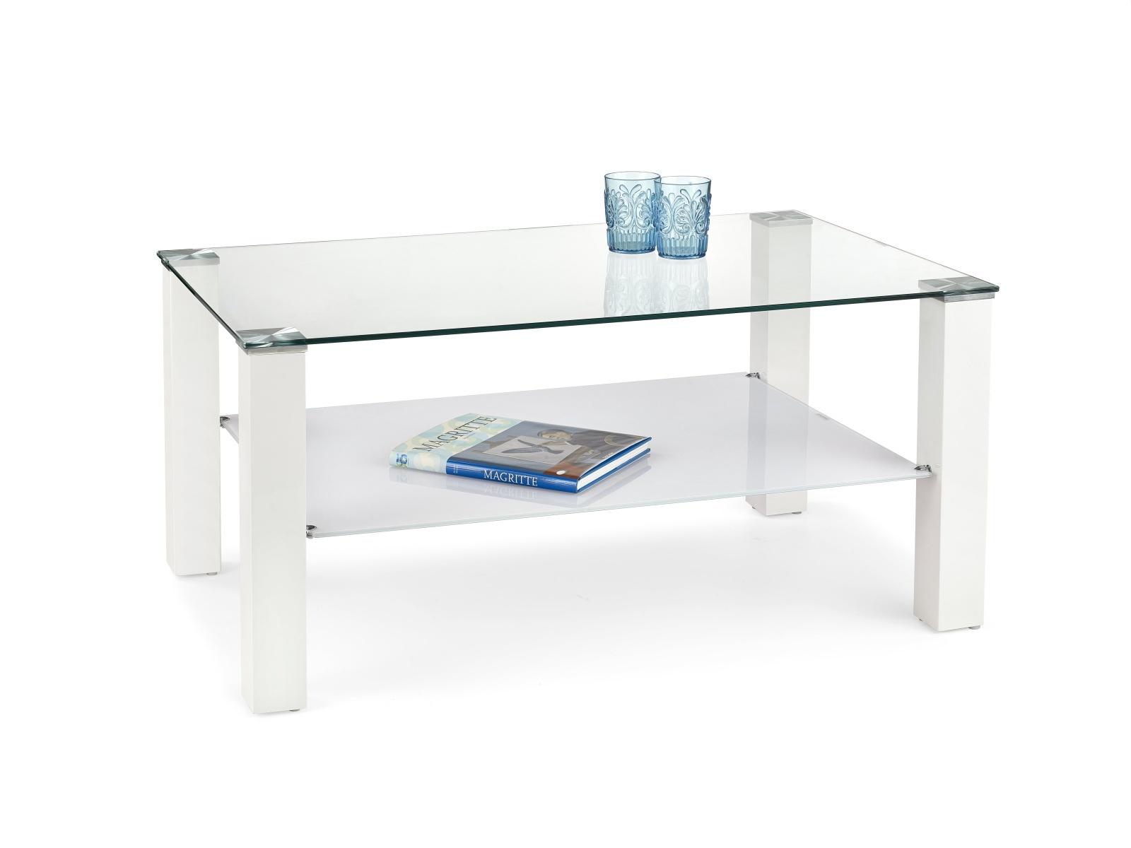 Halmar Konferenční stolek VENTURA, bílá