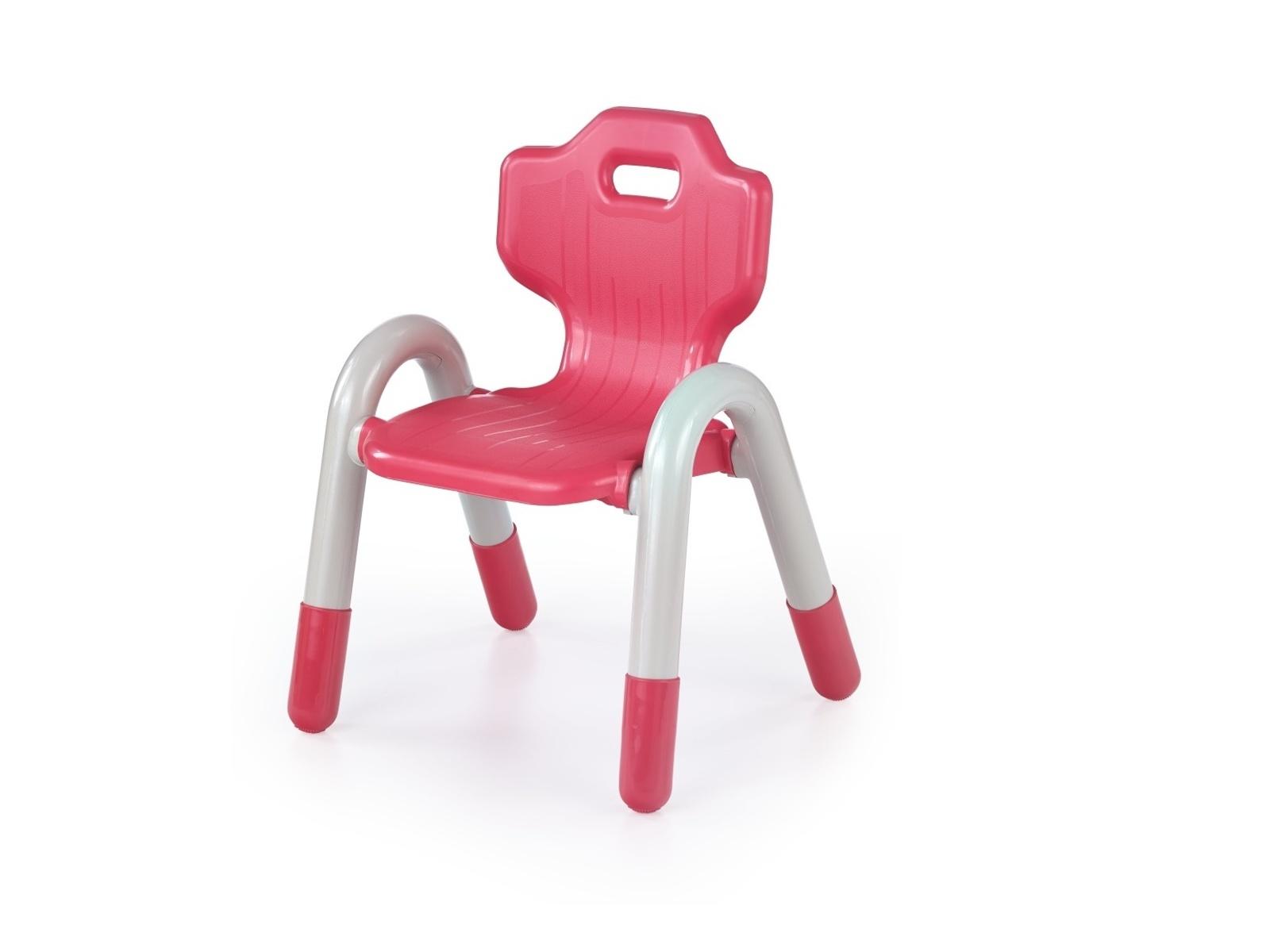 Halmar Dětská židle BAMBI, červená