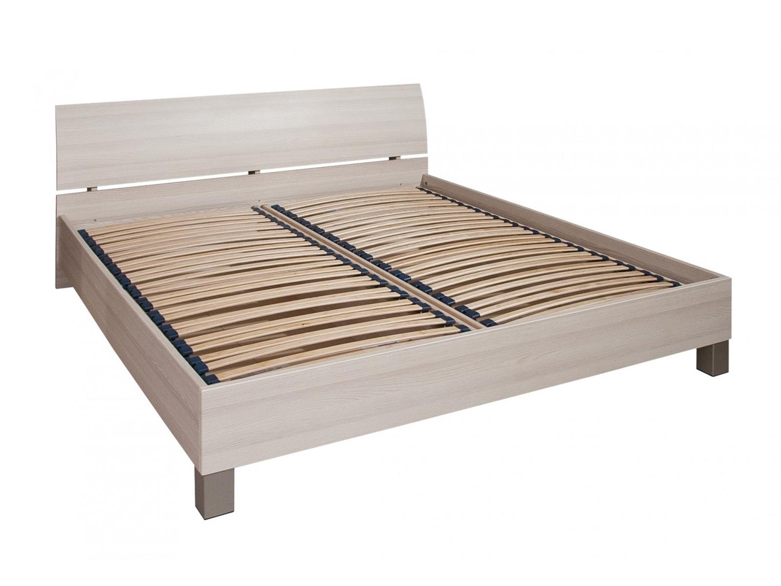 Decodom CASSONOVA typ 04-P-OH-180 postel s rošty a úložnými prostory, jasan coimbra