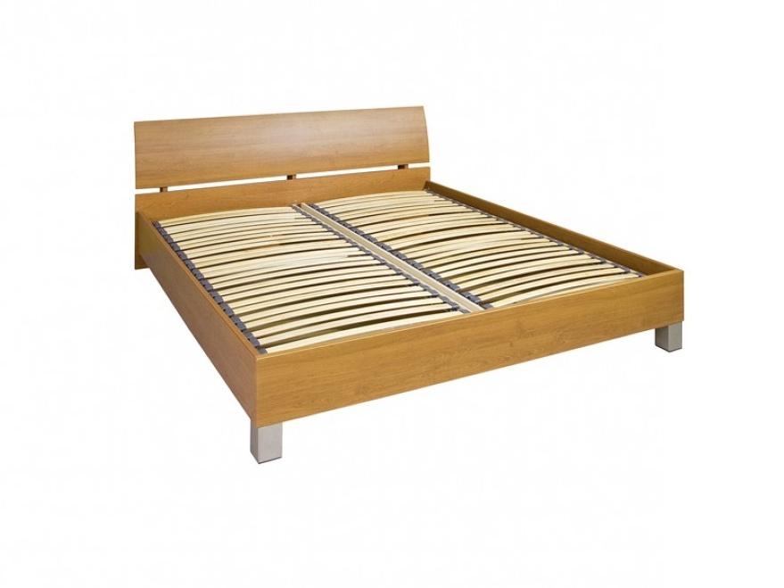 Decodom CASSONOVA typ 53-P-OH-160 postel s rošty a úložnými prostory, buk 07