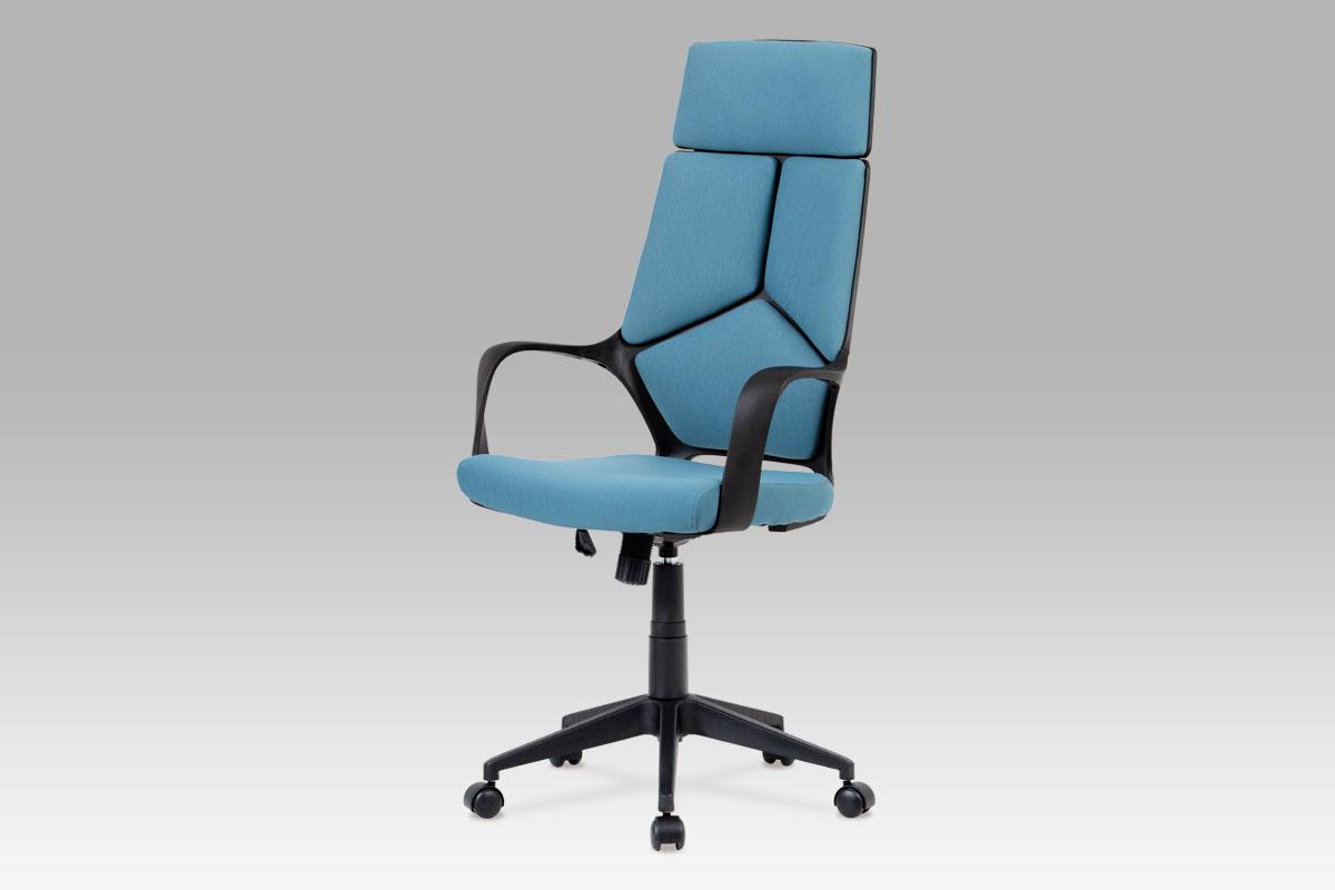 Autronic Kancelářská židle KA-E898 BLUE, modrá/černá