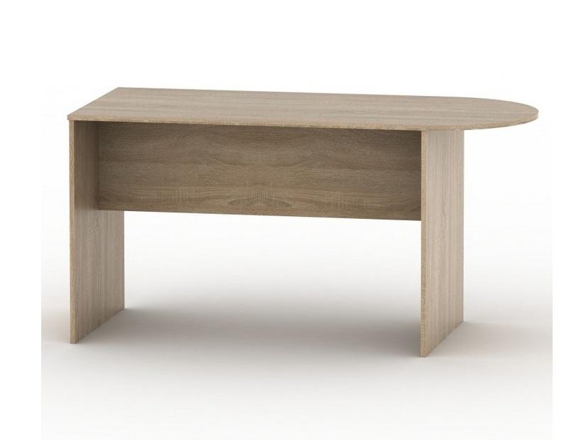Tempo Kondela TEMPO AS NEW 022 kancelářský stůl s obloukem, bardolino tmavé