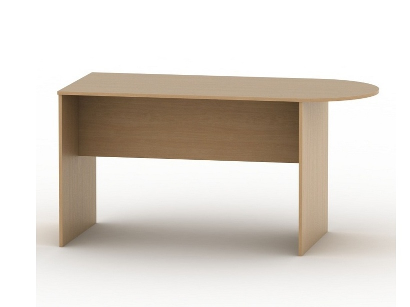 Tempo Kondela TEMPO AS NEW 022 kancelářský stůl s obloukem, buk