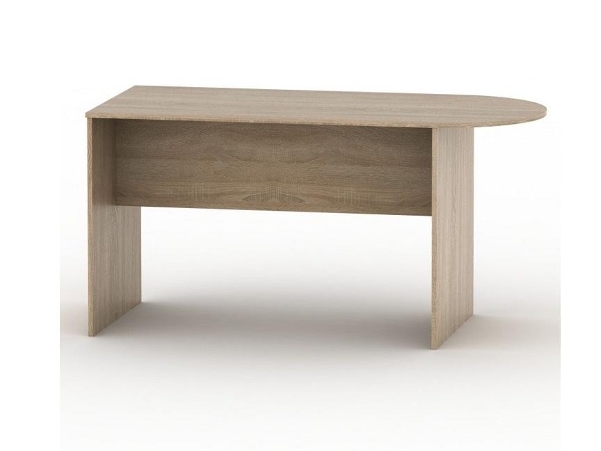 Tempo Kondela TEMPO AS NEW 022 kancelářský stůl s obloukem, dub sonoma