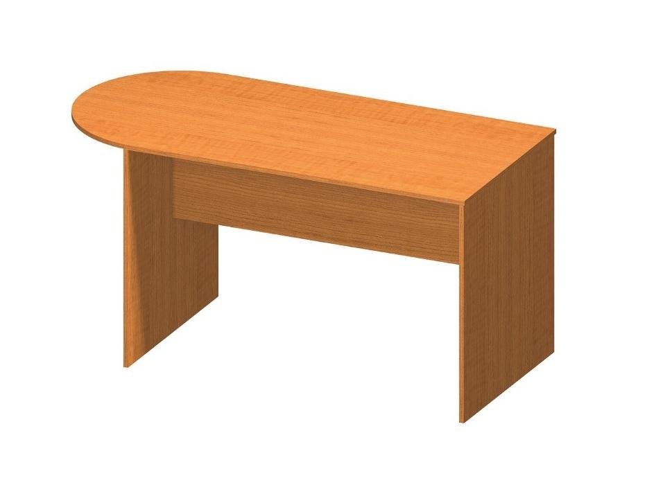 Tempo Kondela TEMPO AS NEW 022 kancelářský stůl s obloukem, třešeň