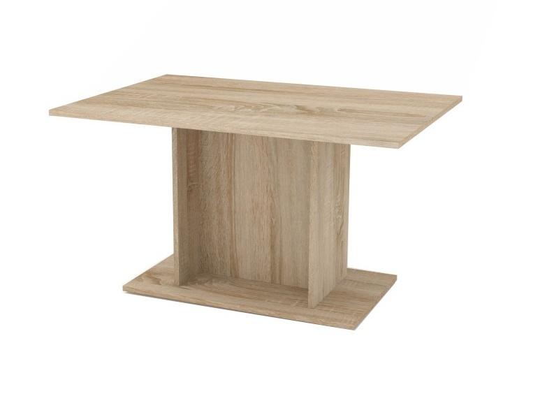 MODERN jídelní stůl, dub sonoma