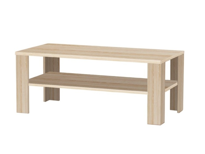 TINGGI II konferenční stolek, dub sonoma