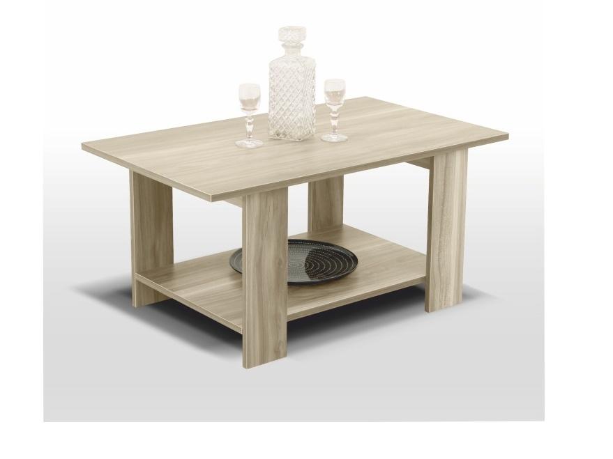 PEMAROH konferenční stolek, dub sonoma