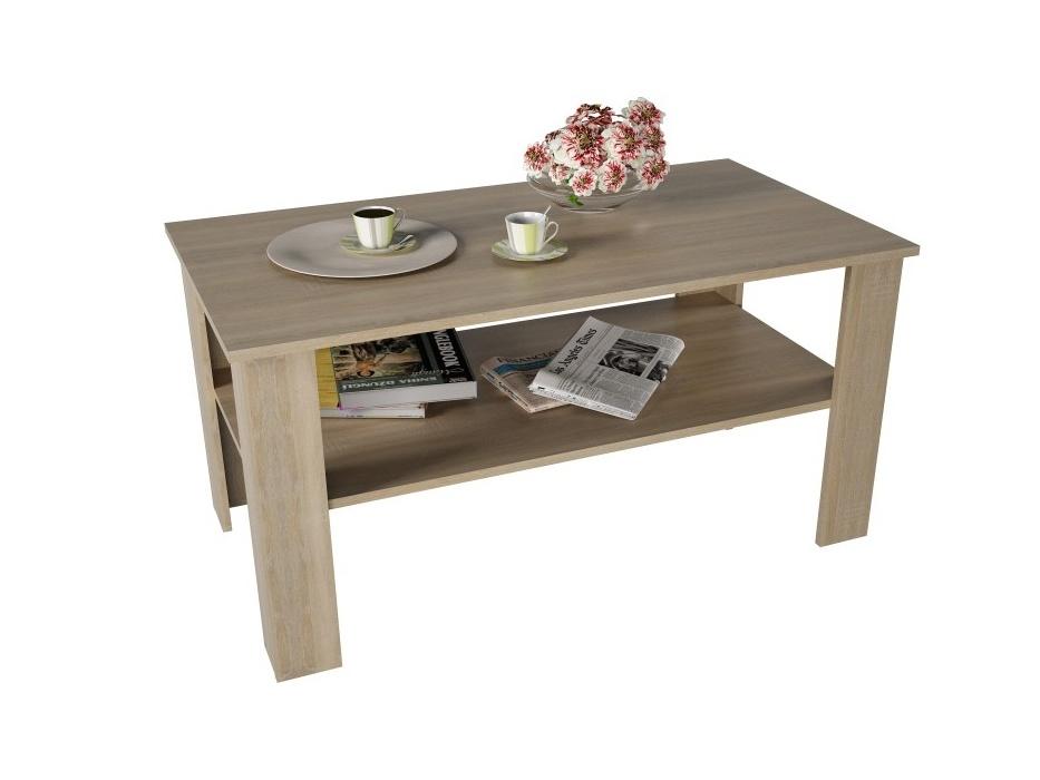 BAWEAN konferenční stolek, dub sonoma
