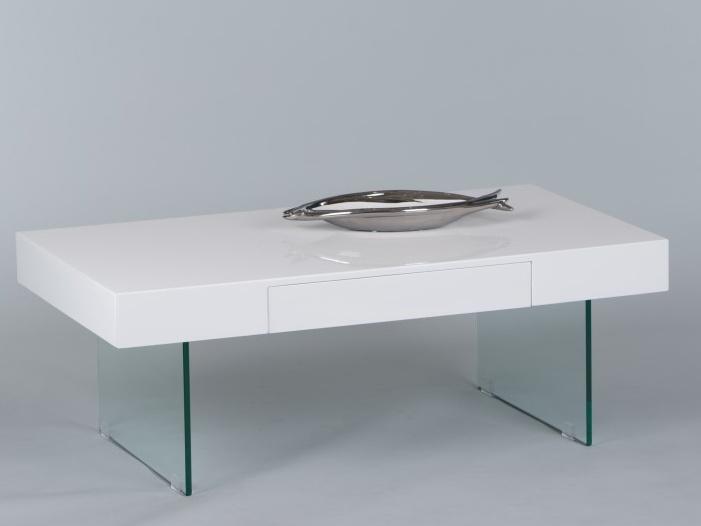 Tempo Kondela DAISY konferenční stolek, bílý lesk