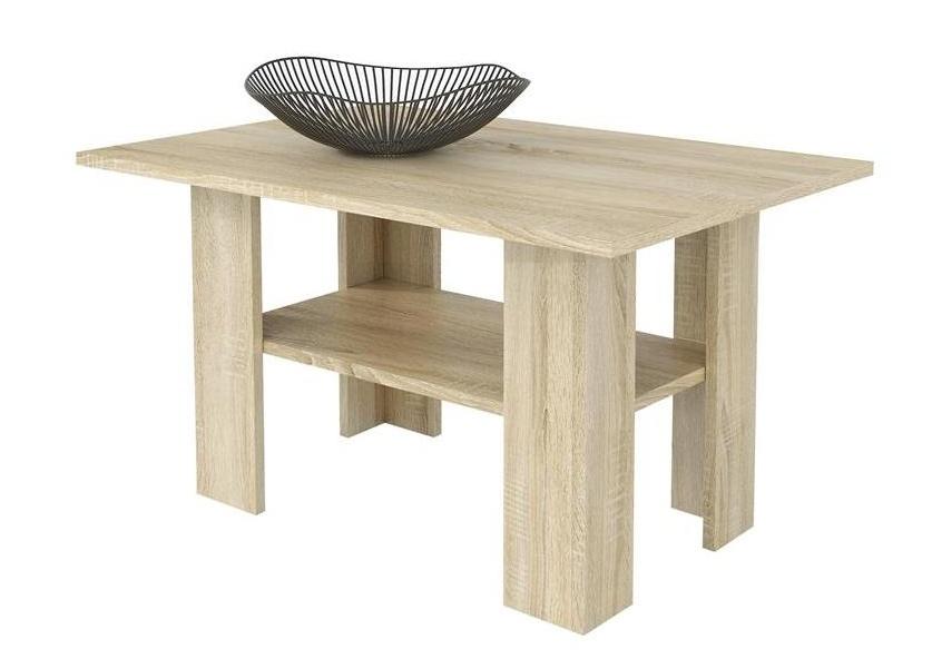 BANGOR II konferenční stolek, dub sonoma