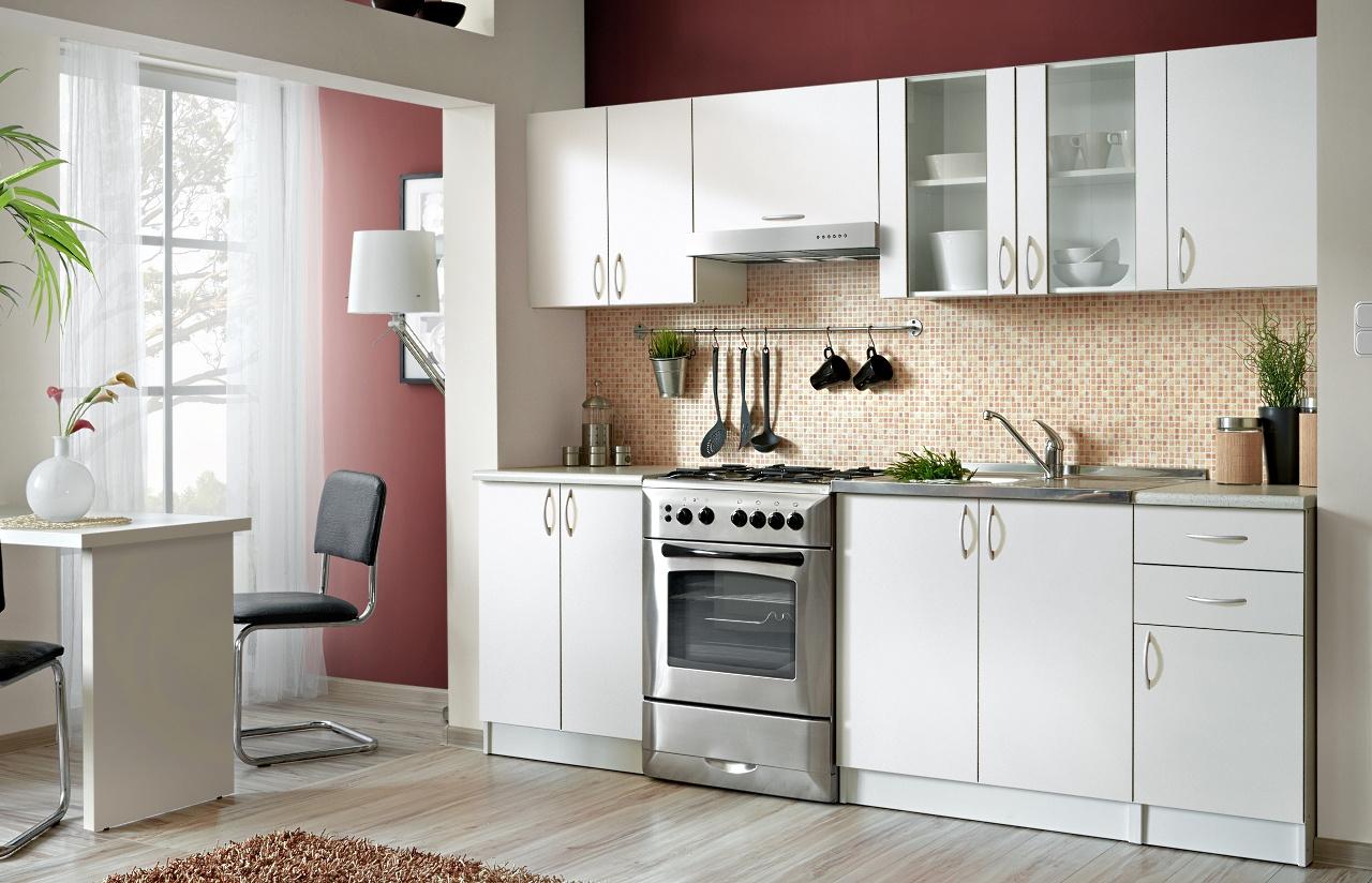 Smartshop Kuchyně JOLANA II 180/240 cm, bílá