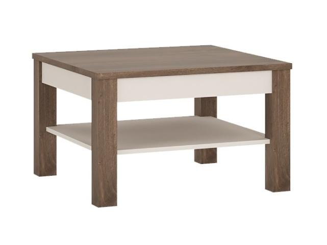 Extom VIN typ 71 konferenční stolek, hidalgo/bílý lesk