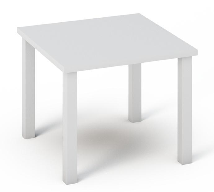 Smartshop Konferenční stolek QUATRO 22 bílý